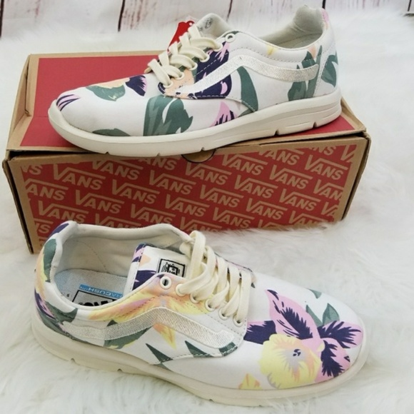 6e46802a7ed Vans Iso 1.5 Vintage Floral Marshmallow Shoes NIB